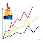 Diagram — Stock Vector
