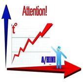 Epidemic diagram — Stock Vector