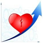 diagramme médical — Vecteur