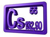 Caesium — Stock Photo