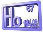 Holmium — Stock Photo