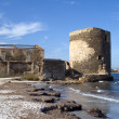 Sentry serf tower on coast, Sardinia — Stockfoto