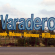 Varadero - Letters on entrance - Stock Photo