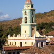 Belltower in the old town Trinidad, Cuba — Stock Photo