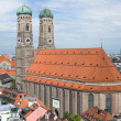 Frauenkirche Cathedral Church in Munich - Stock Photo