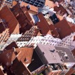 Tile roofs of Lubek, Germany — Stock Photo