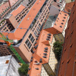 Tile roofs of Munich, Germany (3) - Stock Photo