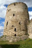 Old serf Russian tower — Stock Photo