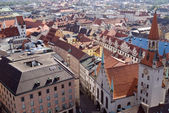 Tile roofs of Munich, Germany (1) — Stock Photo