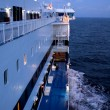 Evening onboard, Baltic sea — Stock Photo