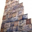 Stock Photo: Boxes of port cargoes, Havana, Cuba