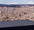 Panorama of Barcelona — Foto Stock
