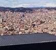 Panorama of Barcelona — Stockfoto