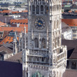 Tower of new Town Hall, Munich — Stock Photo