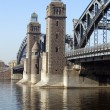 Towers of Big Ohta bridge — Stock Photo