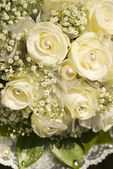 Bride wedding bouquet — Stock Photo