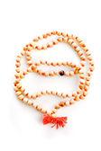 Wooden beads — Stock Photo