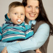 Happy mother and son — Stock Photo #1975224