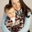 Smiling mother with her son — Stock Photo #2210907