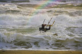 Kite surfer — Stock Photo