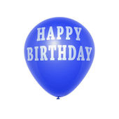 Happy birthday balloon — Stock Photo