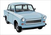 Classic city car — Stock Vector
