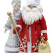 Grandfather Frost with Snowmaiden — Stock Photo #1295427