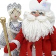 Grandfather Frost with Snowmaiden — Stock Photo #1295435