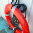 Red Ring Buoy — Stock Photo