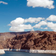 Stock Photo: clouds over lake mead las vegas