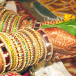 Bride in Indian Marriage — Stock Photo