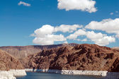 Clouds over Lake Mead Las Vegas — Stock Photo