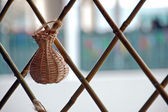 Handicraft Basket — Stock Photo