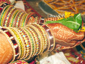 Bride in Indian Marriage — Foto Stock