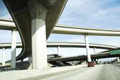 Freeway road network in America — Stock Photo