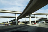 Overpass America Freeway System — Stock Photo