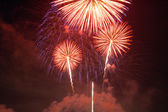 Fireworks lighting — Foto Stock
