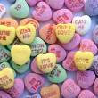 Valentine Love Heart Candy — Stock Photo