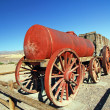 Borax Mining Cart - Stock Photo