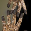 Henna Tattoo on Hands - Foto Stock