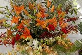 Flower Bouquet Ikebana — Stock Photo