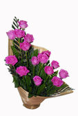 Różowy kwiat róża bukiet ikebany — Zdjęcie stockowe