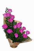 Pink Rose Flower Bouquet Ikebana — Stock Photo