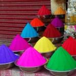 pó de cor para o festival de holi — Foto Stock