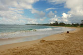 Laie Beach Honolulu Hawaii — Stock Photo