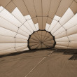 Hot Air Balloon sepia — Stock Photo #1382580