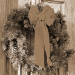 Christmas Decoration sepia — Stock Photo #1444998