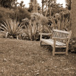 Garden Chair sepia — Stock Photo #1458498