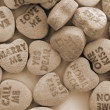 Valentine Love Candy sepia — Stock Photo #1458558