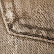 Fashion Trendy Jeans sepia — Stock Photo